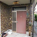 玄関取替工事 ― 断熱ドア