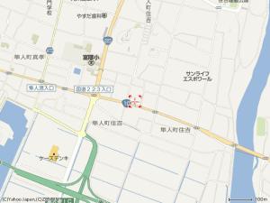 内覧会 周辺地図