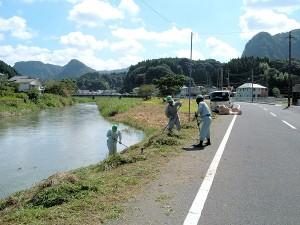 霧島市 河川景観保全 松下建設